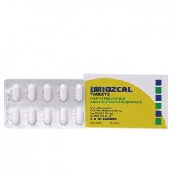 Thuốc bổ sung Canxi và Vitamin D3 Briozcal Tablets 30 viên