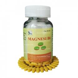 Thuốc bổ sung MAGNESI B6 - Vitamin B6 1500mcg magnesi lactat 47mg