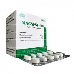 Thuốc bổ sung MAGNESI-B6 - Magnesium lactate dihydrate 470mg
