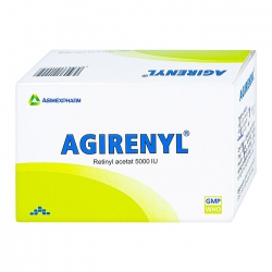 Thuốc bổ sung Vitamin A Agimexpharm Agirenyl 5000IU 100 viên