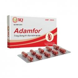 Thuốc bổ thận, tráng dương Adamfor Xuân Quang, Hộp 20 viên