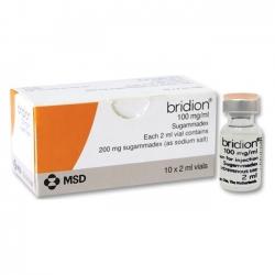 Thuốc BRIDION INJ.100MG/ML 2ML, Hộp 10 lọ
