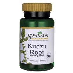 Viên hỗ trợ cai rượu thảo dược Swanson Kodzu root, Chai 60 viên