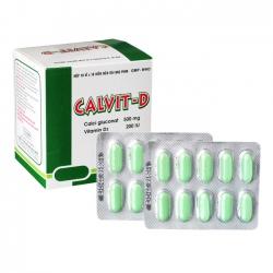 Thuốc Calvit D DHG, Hộp 100 viên