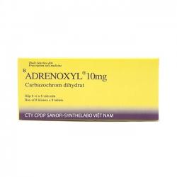 Thuốc cầm máu Adrenoxyl 10Mg | Hộp 8 vỉ x 8 viên