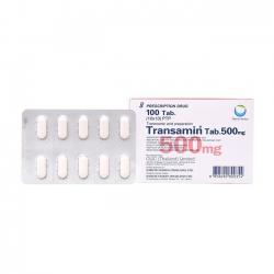 Thuốc Transamin Tab 500mg, Hộp 100 viên