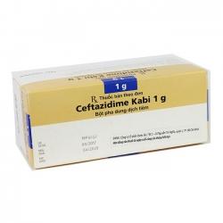 Thuốc Ceftazidime Kabi 1g