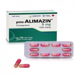Thuốc chống dị ứng Imexpharm Alimazin 5mg, Hộp 100 viên