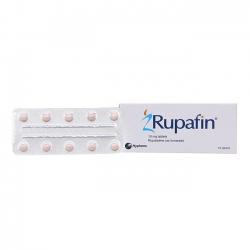 Thuốc chống dị ứng Rupafin 10mg, Hộp 10 viên