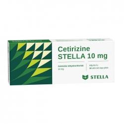 Thuốc chống dị ứng Stella Cetirizine Stella 10mg