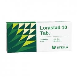 Thuốc chống dị ứng Stella Lorastad 10 Tab