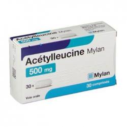 Thuốc chóng mặt Acetylleucine Mylan 30 viên