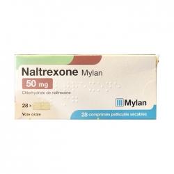 Thuốc chống tái nghiện ma túy Mylan Naltrexone 50mg