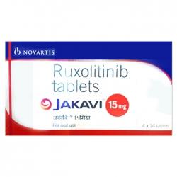 Thuốc chống ung thư Ruolitinib-Jakavi 15mg Hộp 4 vỉ 14 viên