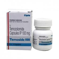Thuốc ung thư Cipla Temoside 100mg, Hộp 5 viên