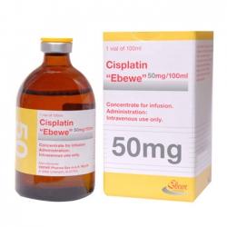 Thuốc Cisplatin Ebewe 50mg/100ml