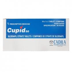 Thuốc cường dương Cadila Cupid 50 Sildenafil 50mg