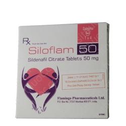 Thuốc cường dương Siloflam 50mg