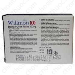 Thuốc cường dương Willmon 100mg - Hết hàng