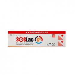 Thuốc da liễu SosLac G3 15g