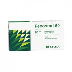 Thuốc dị ứng Stella Fexostad 60mg