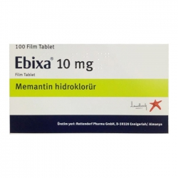 Thuốc điều trị bệnh Alzheimer Ebixa 10mg, Hộp