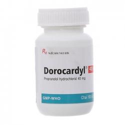 Thuốc Domesco Dorocardyl 40mg, Chai 100 viên