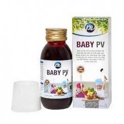 Thuốc điều trị đường tiêu hóa Baby PV 125ml