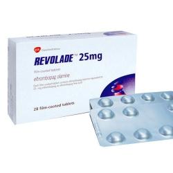 Thuốc Gsk Revolade 25mg, Hộp 28 viên