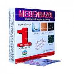 Thuốc điều trị giun MEBENDAZOL 500mg