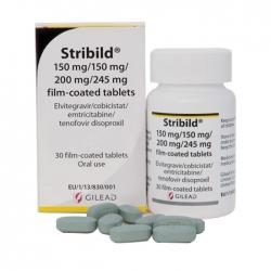 Thuốc điều trị HIV Gilead Stribild, Hộp 30 viên