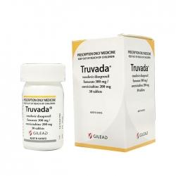 Thuốc điều trị HIV Gilead Truvada, Hộp 30 viên