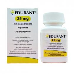Thuốc điều trị HIV Janssen Edurant 25mg, Chai 30 viên