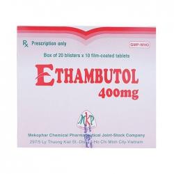 Thuốc điều trị lao MKP Ethambutol 400mg 200 viên