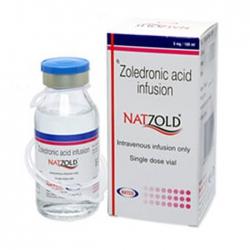 Thuốc điều trị loãng xương Natco Natzold 5mg/100ml