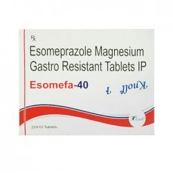 Thuốc điều trị loét dạ dày, tá tràng Knoll Esomefa-40, Hộp 300 viên