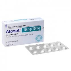 Thuốc điều trị mỡ máu Atozet 10mg/10mg 30 viên