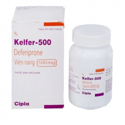 Thuốc điều trị nhiễm hemosiderin khi truyền máu Kelfer 500mg