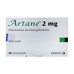 Thuốc điều trị Parkinson Sanofi Artane 2mg 50 viên