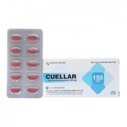 Thuốc điều trị sỏi cholesterol mật Cuellar 150mg