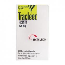 Thuốc điều trị tăng áp mạch phổi Actelion Tracleer Bosentan 125mg, Hộp 60 viên