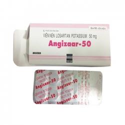 Thuốc điều trị tăng huyết áp Angizaar 50