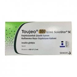 Thuốc tiểu đường Toujeo 300u/ml, Hộp 5 ống