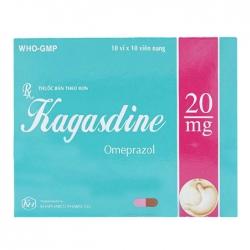 Thuốc điều trị trào ngược dạ dày Kagasdine 20mg 10 vỉ x 10 viên