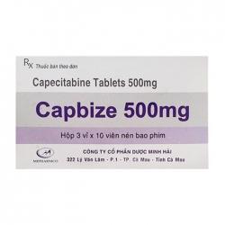 Thuốc điều trị ung thư Minh Hải Capbize 500mg 30 viên