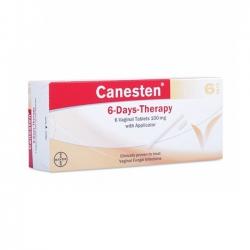 Thuốc điều trị viêm âm đạo Canesten 6-Day-Therapy (6 viên/hộp)
