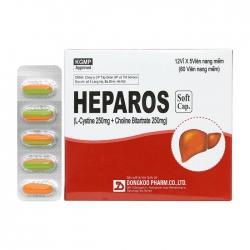 Thuốc Dongkoo Heparos 250mg 60 viên