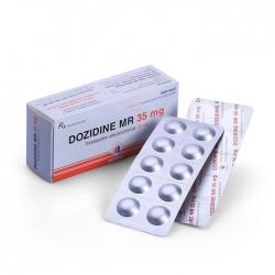 Thuốc DMC Dozidine MR 35mg Trimetazidine 35mg, Hộp 60 viên