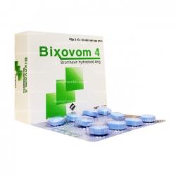 Thuốc đường hô hấp BIXOVOM 4 - Bromhexin hydroclorid 4mg