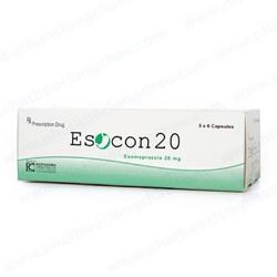 Thuốc Esocon 20, Esomeprazole 20mg, Hộp 30 viên